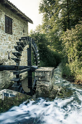 Photograph - Ye Olde Mill by Patrik Lovrin