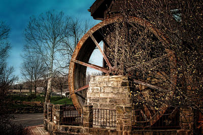 Spring Time Photograph - Ye Olde Mill by Tom Mc Nemar