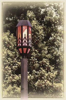 Photograph - Ye Olde Street Lamp by John Haldane