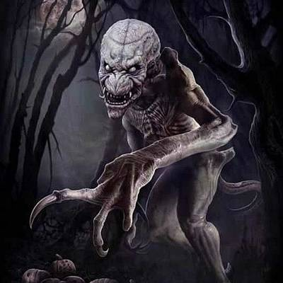 Horror Photograph - Yeah, Some Semblance Of #pumpkinhead by Paige Byington