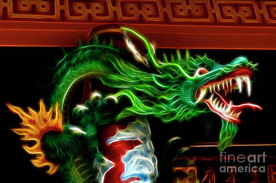Year Of The Dragon Art Print by Bob Christopher