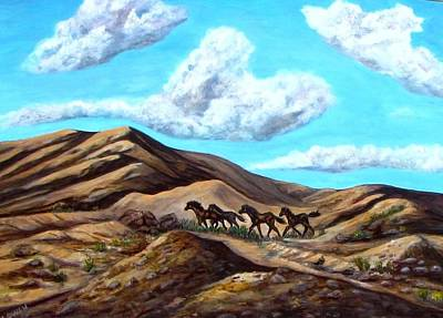 Painting - Year Of The Horse by Caroline Owen-Doar