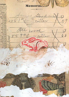 Exchange Mixed Media - Year Of The Rabbit by Spencer Roeder