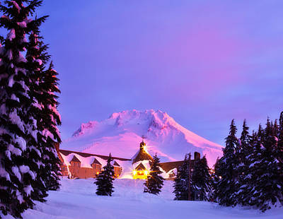 Mount Hood Photograph - Years End by Darren  White