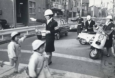 Shinjuku Photograph - Years End Patrol. by Retro Images Archive