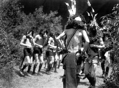 Photograph - Yeibichai Dance, C1906 by Granger