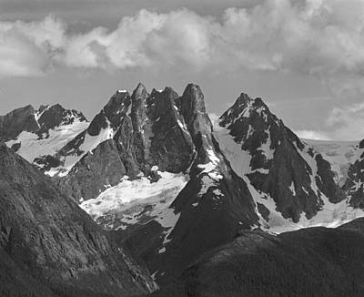 Photograph - 201921-e-yeldagalga Towers, Ak by Ed  Cooper Photography