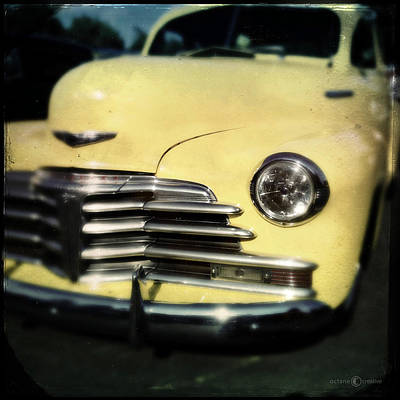 Photograph - Yellow 47 Chevrolet by Tim Nyberg