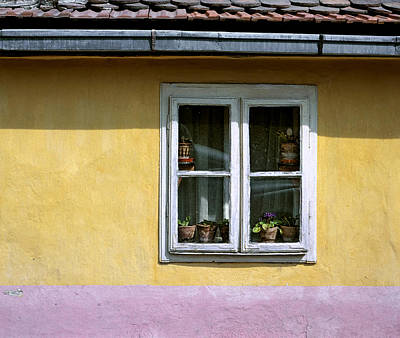 Photograph - Yellow And Pink Facade. Belgrade. Serbia by Juan Carlos Ferro Duque