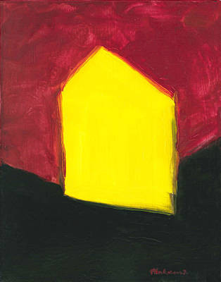 Yellow Arthouse Art Print