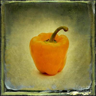 Single Object Photograph - Yellow Bell Peper by Bernard Jaubert