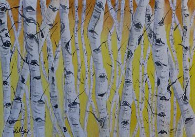 Painting - Yellow Birch by Kelly Mills
