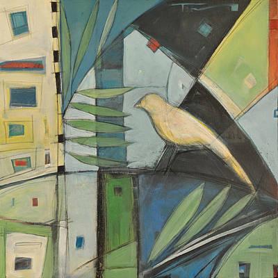 Yellow Bird No. 2 Art Print by Tim Nyberg