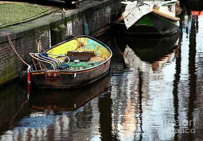 Photograph - Yellow Boat by John Rizzuto
