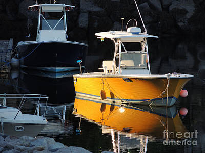 Photograph - Yellow Boat by Marcia Lee Jones