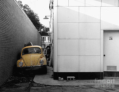 Yellow Bug Art Print by   Joe Beasley