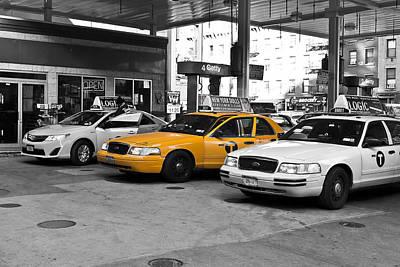 Photograph - Yellow Cab _ Taxi by Louis Dallara