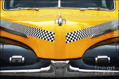 Yellow Cab - 1 Art Print by Nikolyn McDonald