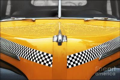 Yellow Cab #2 Art Print by Nikolyn McDonald