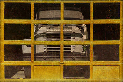 Heavy Equipment Digital Art - Yellow Cage by Jeff  Gettis