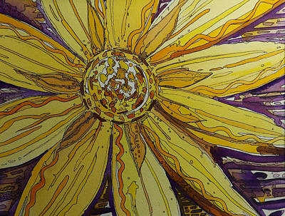 Painting - Yellow Chakra by Terry Holliday
