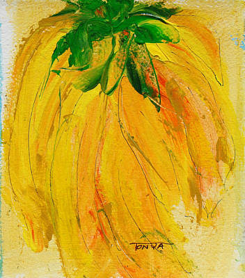 Painting - Yellow Cluster by Tonya Schultz
