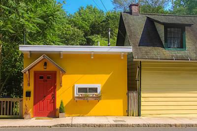 Yellow Cottage Art Print