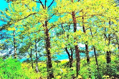 Surrealism Royalty Free Images - Yellow Cottonwood Royalty-Free Image by Alana Tousignant