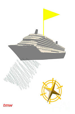Installation Art Photograph - Yellow Cruise by Tina M Wenger