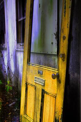 Photograph - Yellow Door 2 by Jim Vance