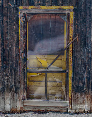 Photograph - Yellow Door by Bitter Buffalo Photography