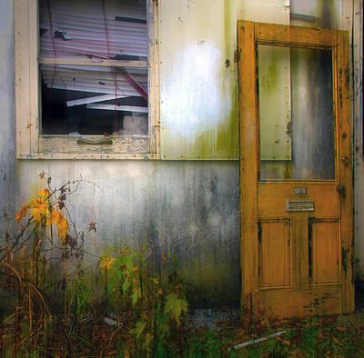 Photograph - Yellow Door by Jim Vance