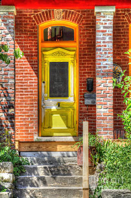 Photograph - Yellow Door by Liane Wright