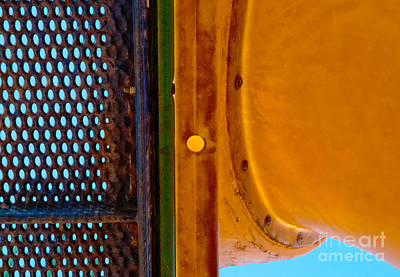 Art Print featuring the photograph Yellow Dot by Lena Wilhite