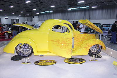Photograph - Yellow Duce Coupe by Mustafa Abdullah