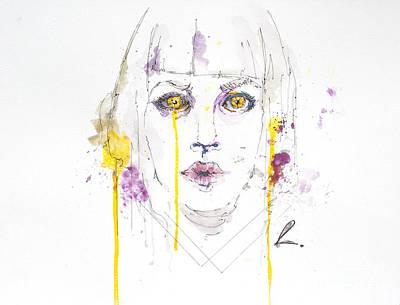 Yellow Art Print by Edgar Rafael
