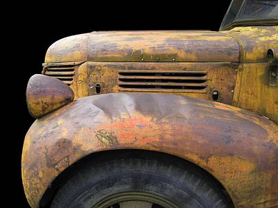 Photograph - Yellow Fargo by Larry Hunter