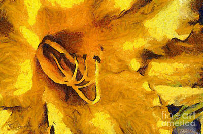 Yellow Flower 2 Art Print