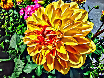 Photograph - Yellow Flower by Alice Gipson