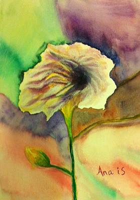 Painting - Yellow Flower by Anais DelaVega