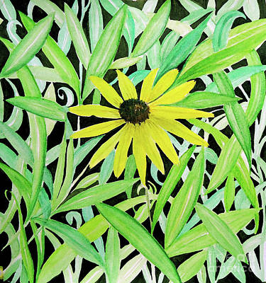 Painting - Yellow Flower by Anjali Vaidya