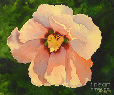 Painting - Yellow Flower by Audrey Peaty