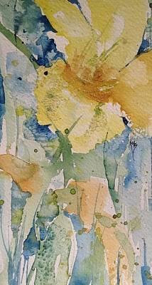 Yellow Flower Study Art Print