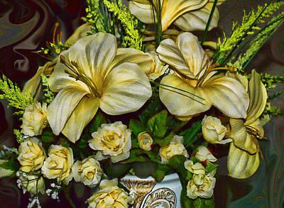Photograph - Yellow Flowers by Cathy Jourdan