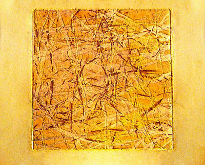 Manger Digital Art - Yellow Grass by David Blank