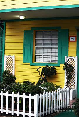 Yellow House Art Print by John Rizzuto