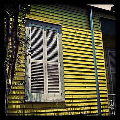 New Orleans Photograph - Yellow House New Orleans by Glen Abbott