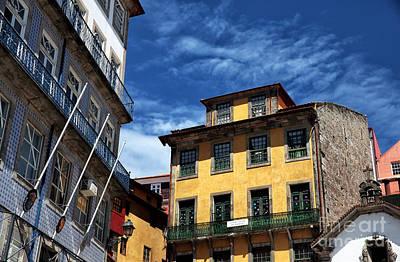Photograph - Yellow In Porto by John Rizzuto