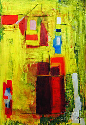 Painting - Yellow  by Jeff Barrett