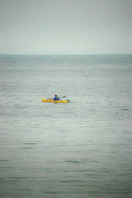 Photograph - Yellow Kayak by Tamyra Crossley